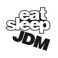 "Наклейка на авто ""Eat, sleep, JDM"""